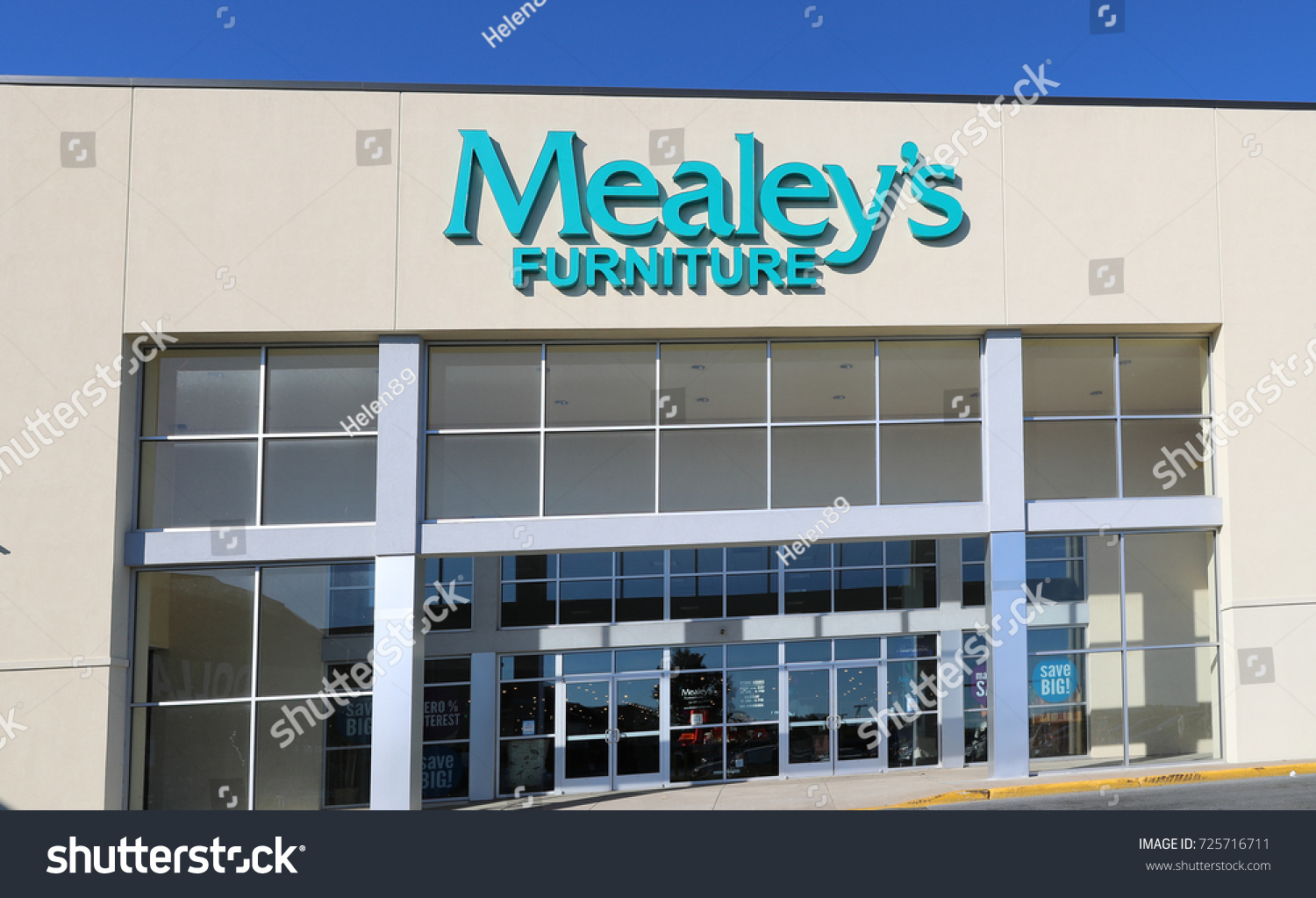 Mealeys Furniture Store Allentown Pa Usa Stock Photo Edit Now
