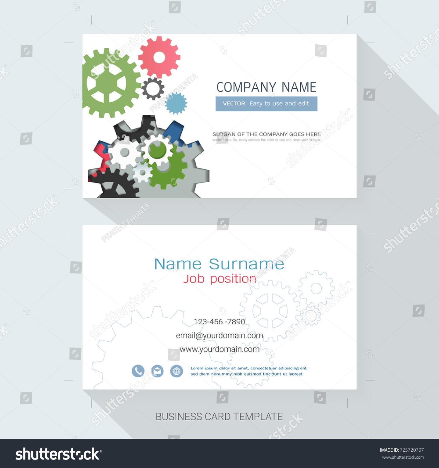 Fantastic Name Card Business Images - Business Card Ideas - etadam ...