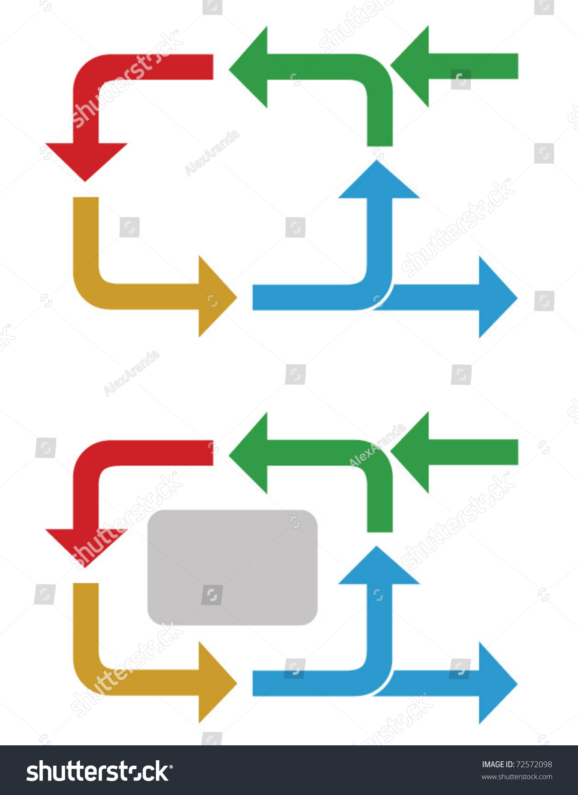 Business Process Flow Diagram Stock Vector Royalty Free 72572098 Images