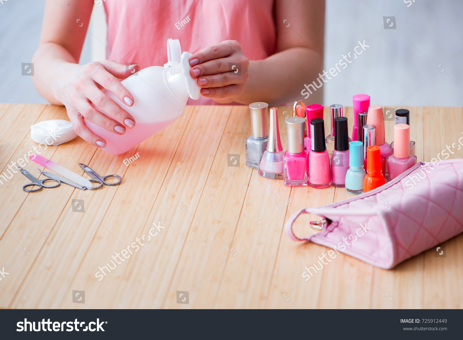 Beauty Products Nail Care Tools Pedicure Stock Photo (Royalty Free ...