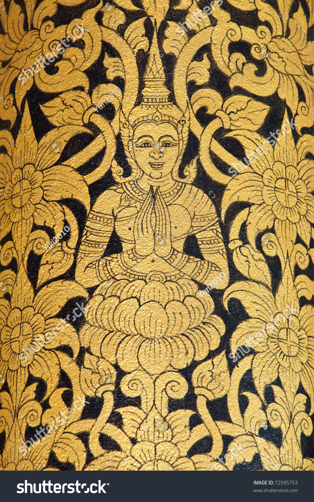 Beautiful Balinese Wall Art Sketch - The Wall Art Decorations ...