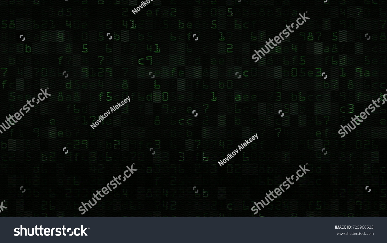 Random green text numeric symbols on stock illustration 725966533 random green text and numeric symbols on a computer screen 3d rendering biocorpaavc Choice Image