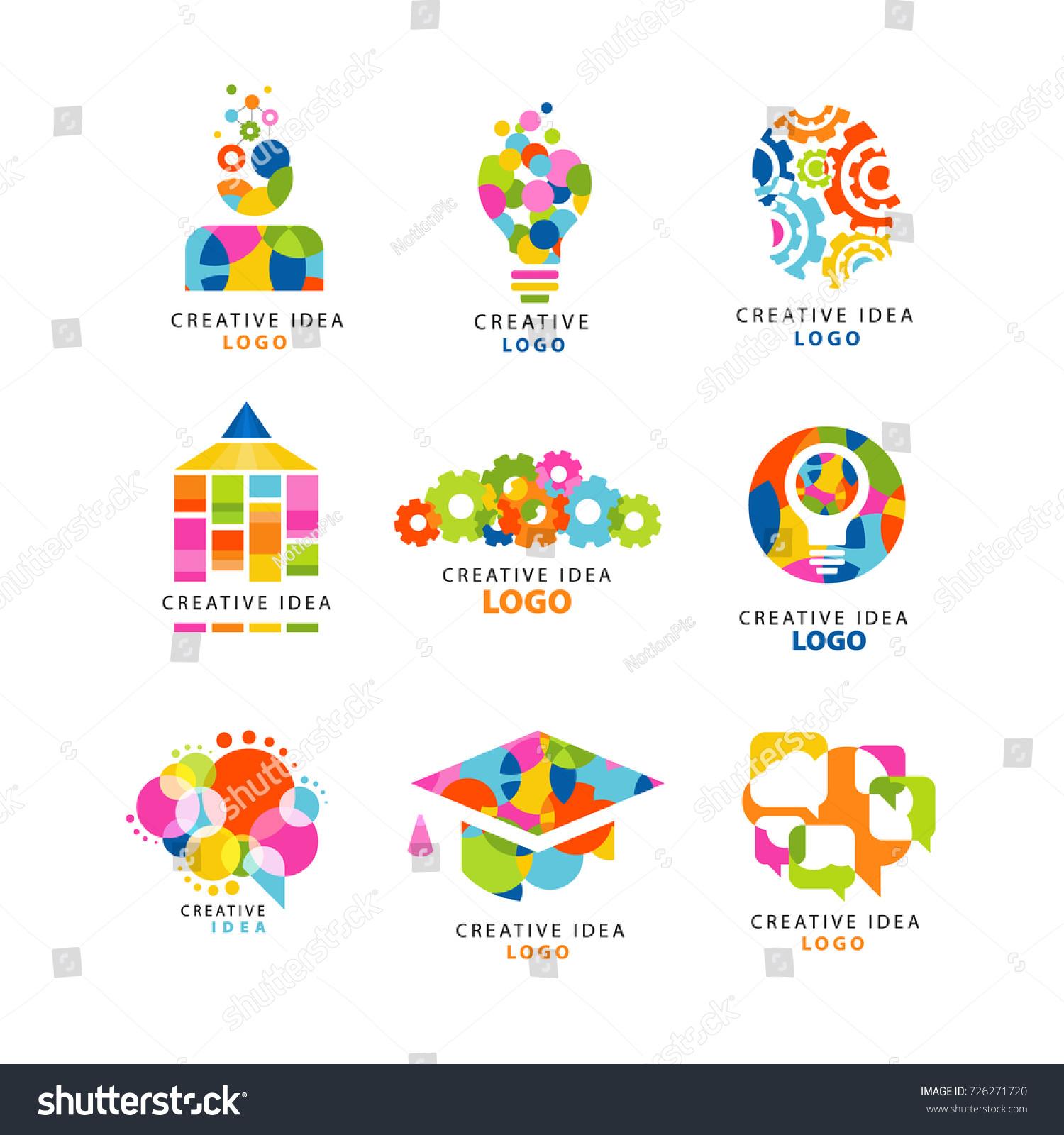 Creative Idea Logo Design Template Abstract Stock Vector 726271720 ...