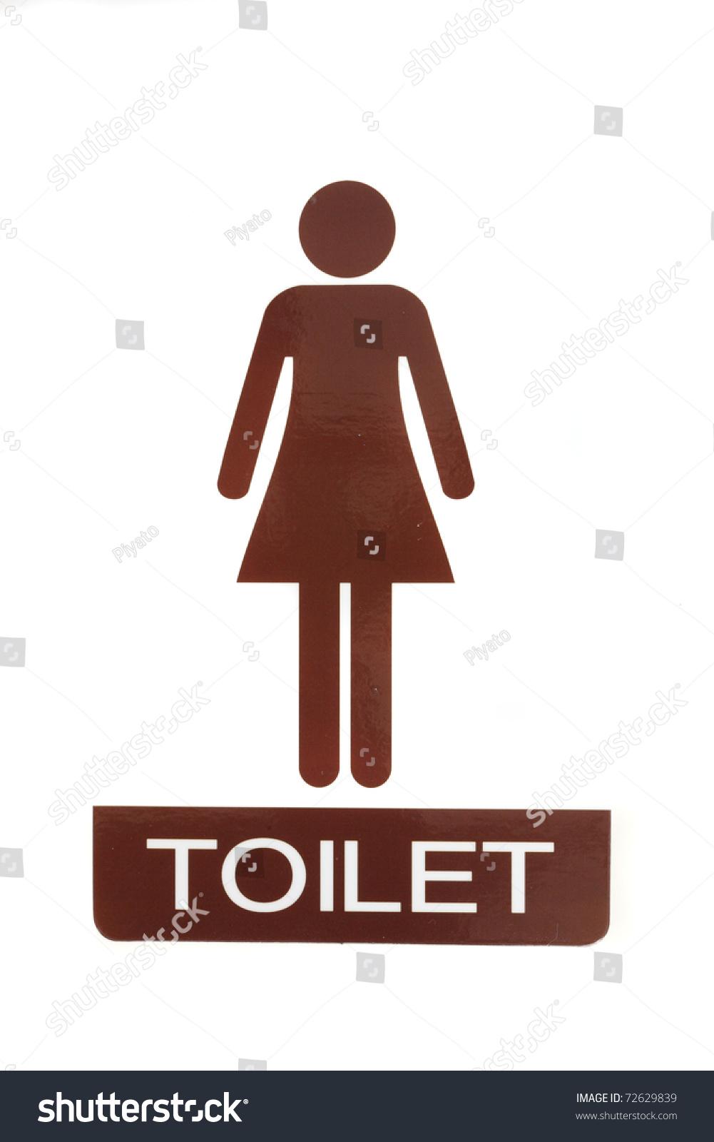 Female Toilet Symbols Stock Photo 72629839 Shutterstock