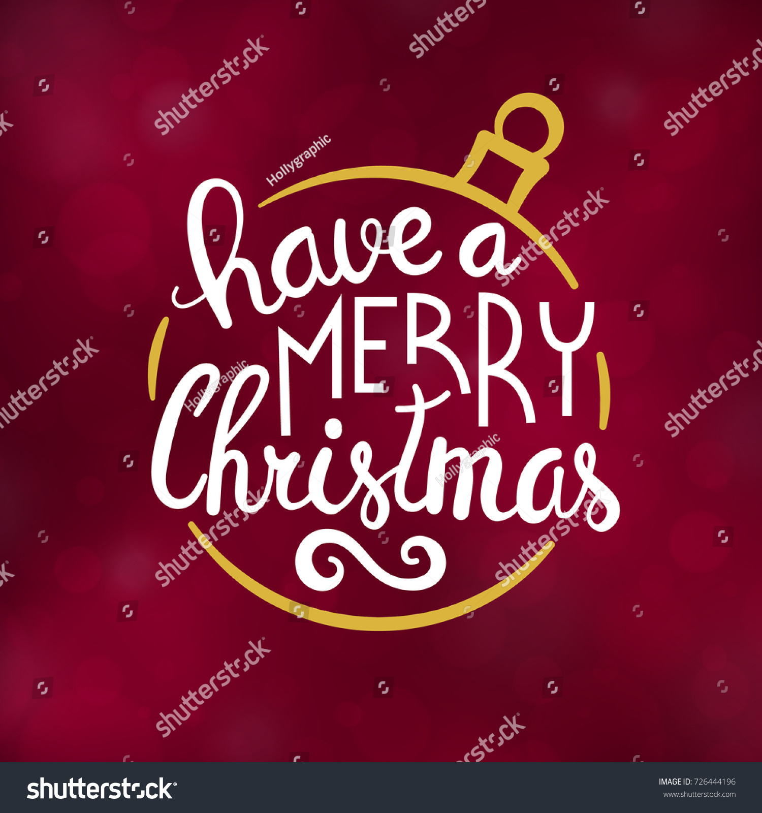 Merry christmas typography design winter season stock vector merry christmas typography design winter season greeting card vector illustration kristyandbryce Choice Image