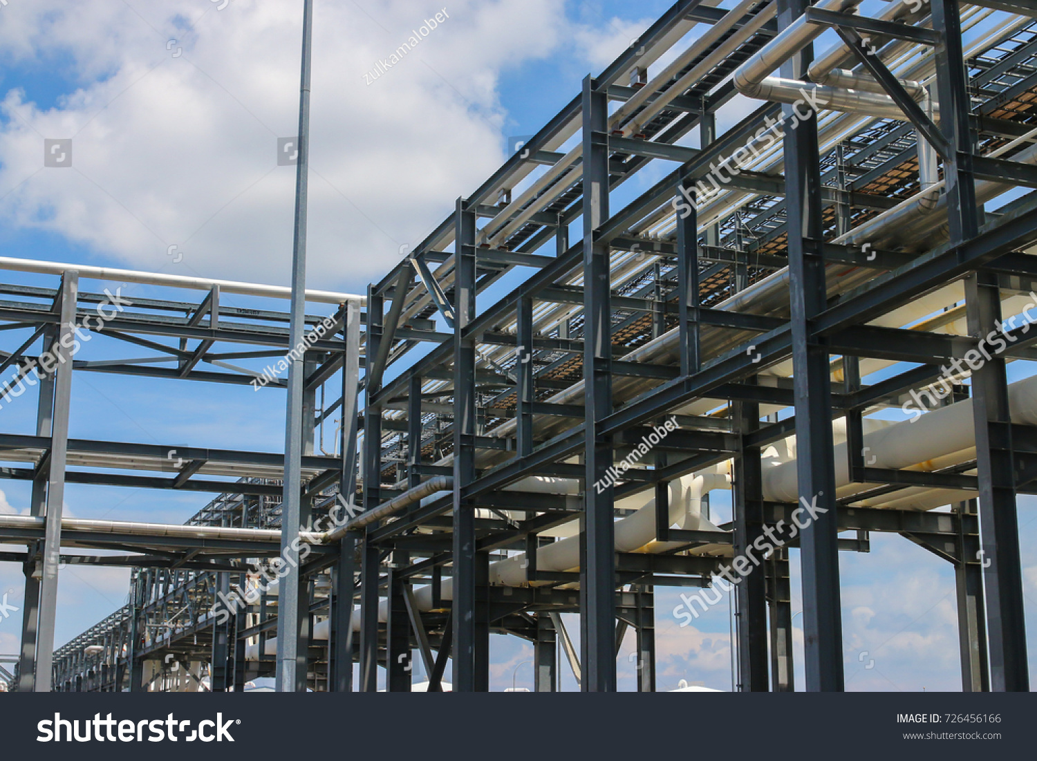 thailand at tha pipe stock phut estate industrial map rack photo