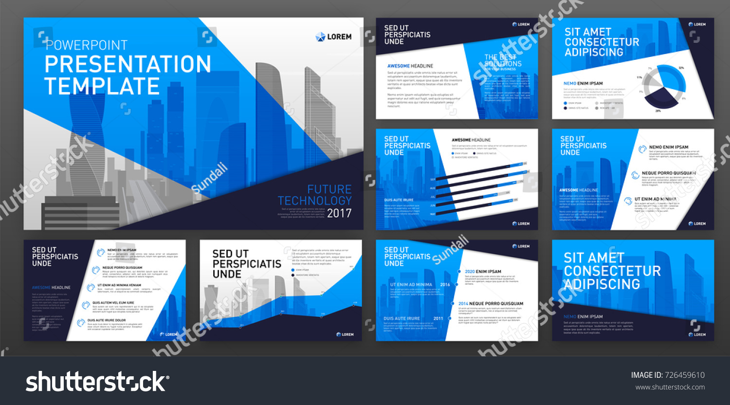 Business Presentation Templates Infographic Elements Use Stock ...