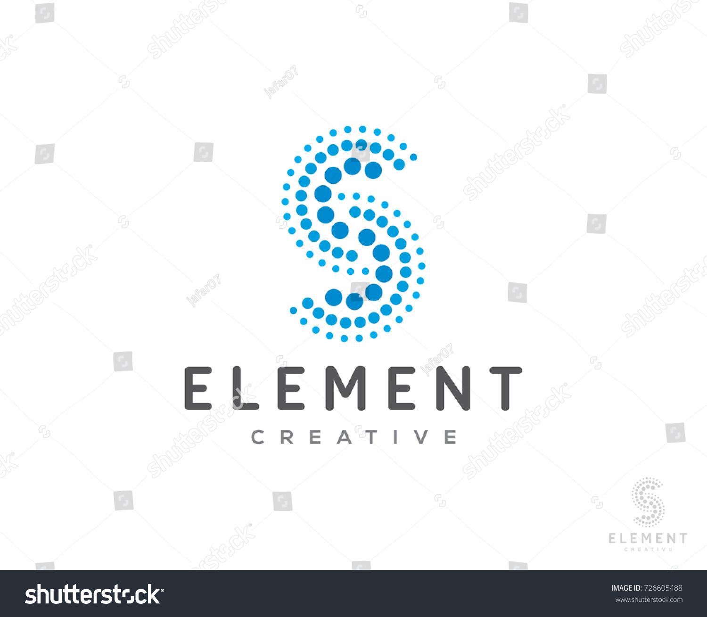 S Dots Logo Icon Vector Templater Stock Vector 726605488 - Shutterstock