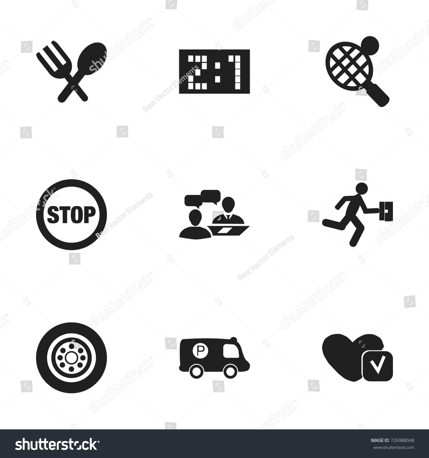 Set 9 editable complicated icons includes stock vector 726988048 set of 9 editable complicated icons includes symbols such as soul stop result biocorpaavc