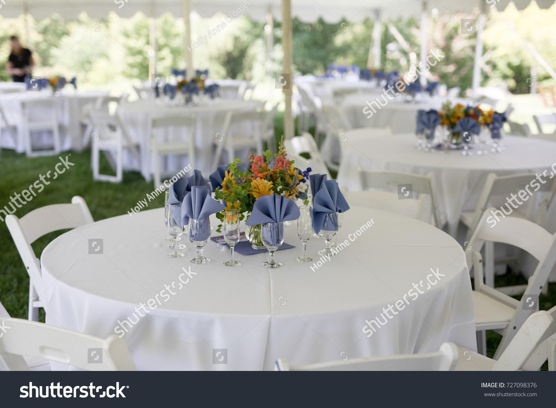 Wildflower Wedding Centerpieces Black Eyed Susans Stock Photo ...