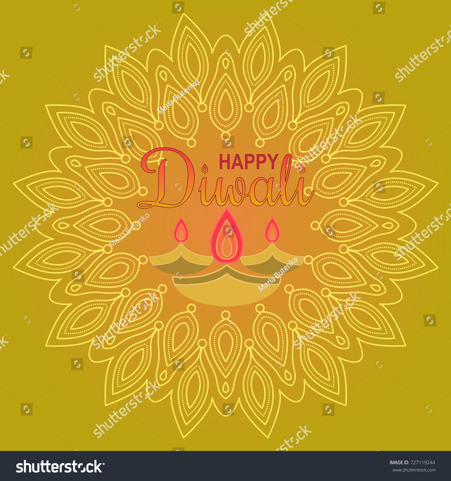 Beautiful greeting card festival diwali happy stock vector beautiful greeting card for festival diwali happy diwali festival background illustration card design for kristyandbryce Images