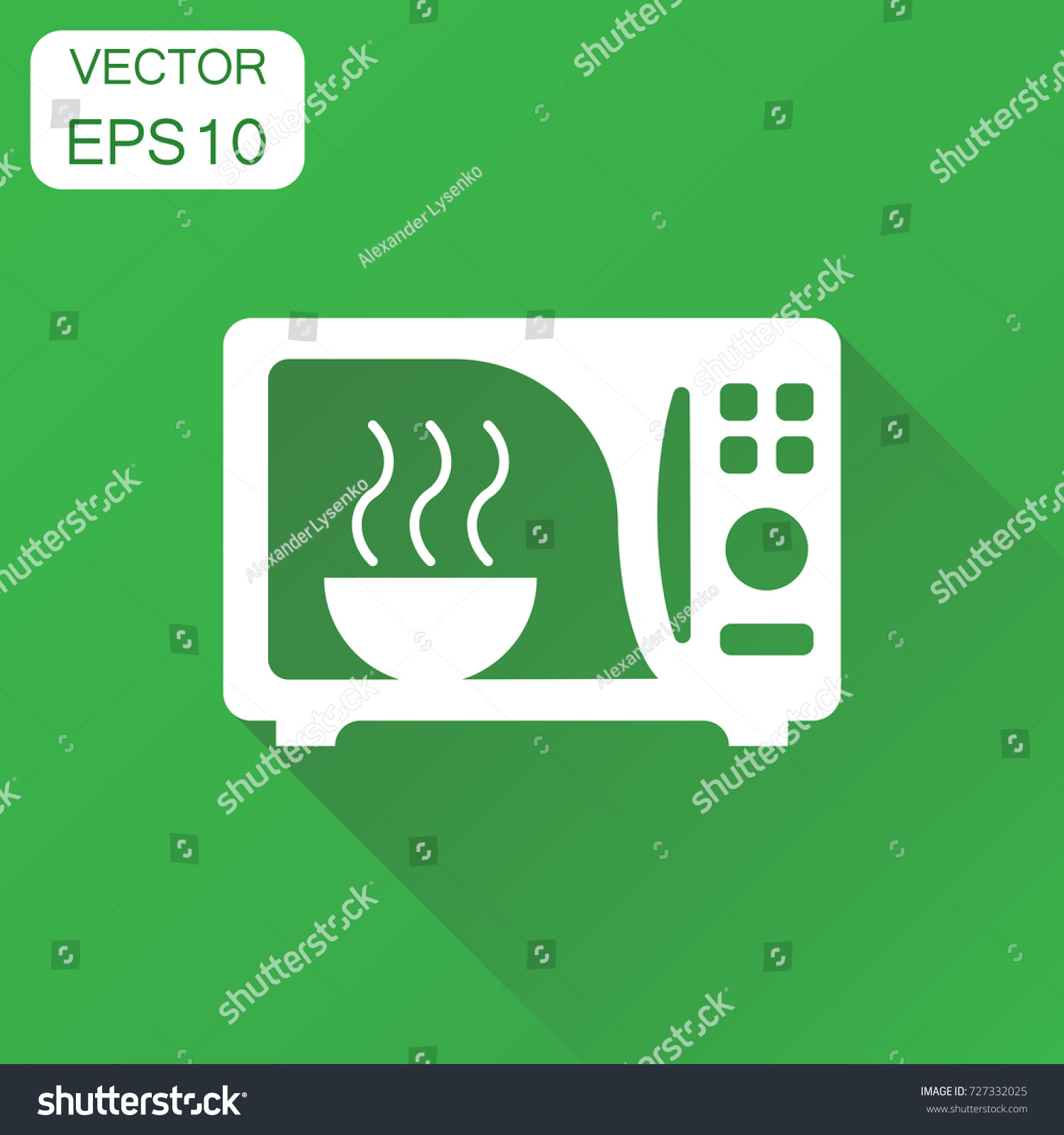 Microwave icon business concept microwave oven stock vector business concept microwave oven symbol pictogram vector illustration on green background with buycottarizona Image collections