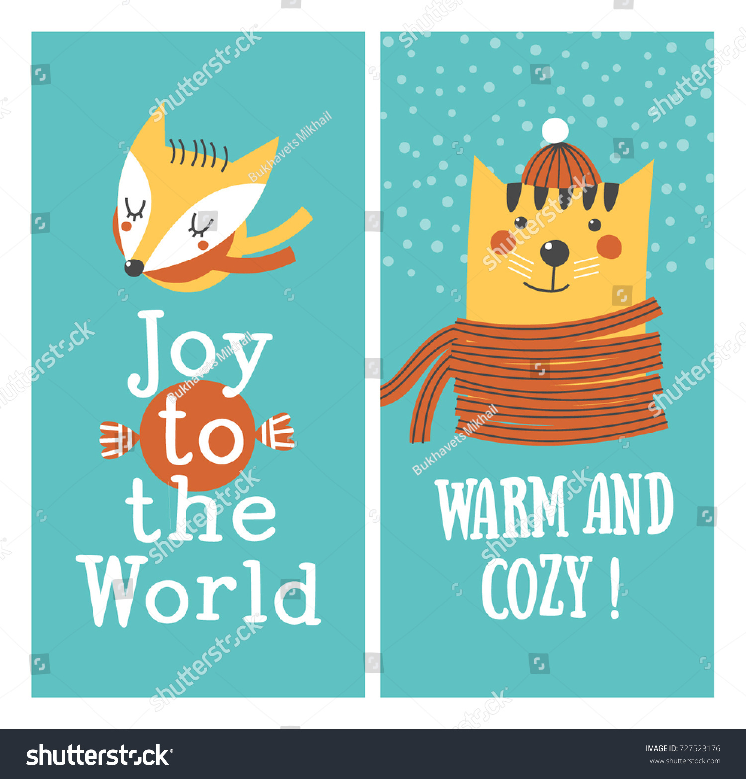 Holiday cards warm cozy joy world stock vector 727523176 holiday cards warm and cozy joy to the world kristyandbryce Gallery