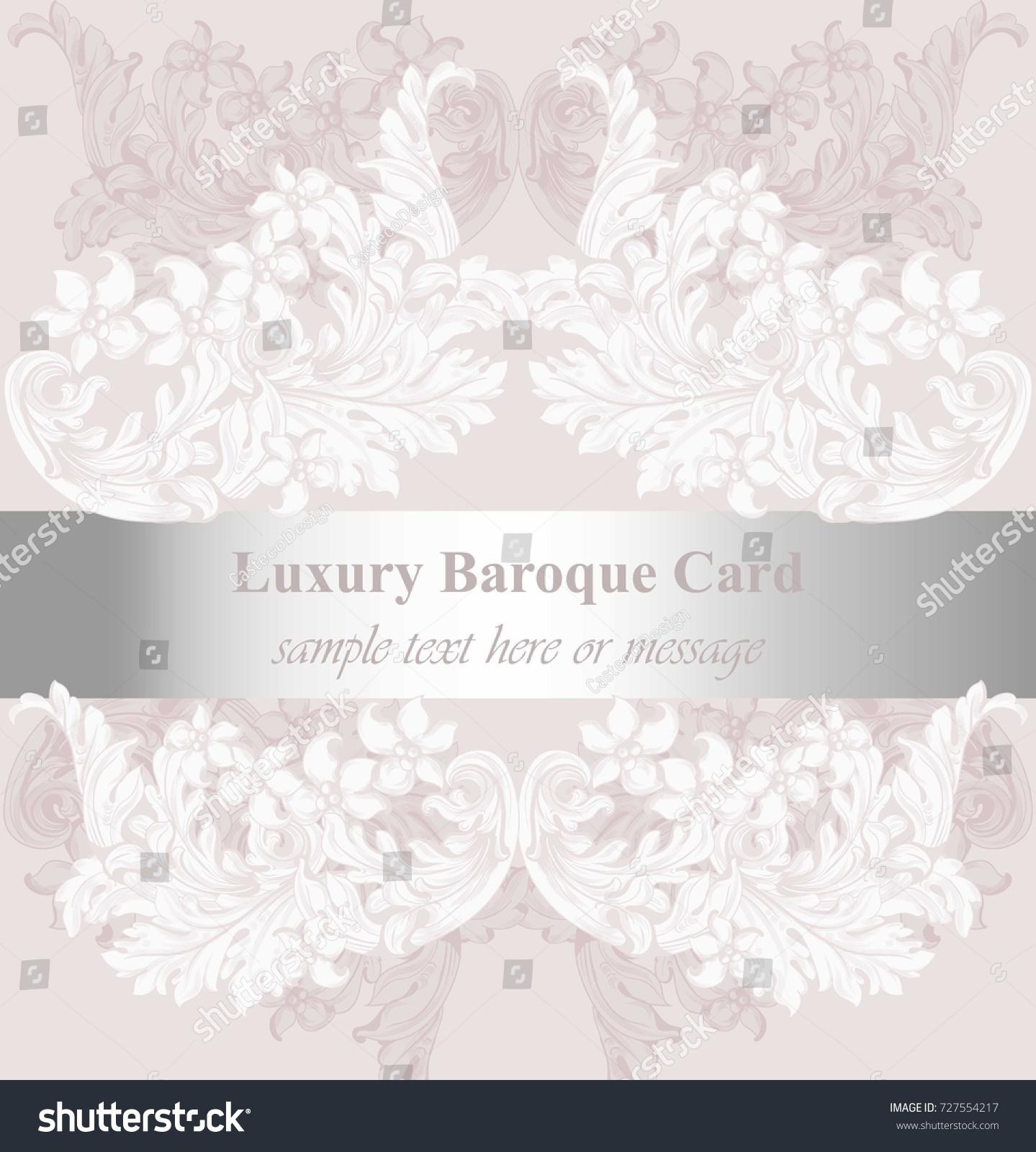 Luxury invitation card vector royal victorian stock vector 727554217 luxury invitation card vector royal victorian stock vector 727554217 shutterstock stopboris Images