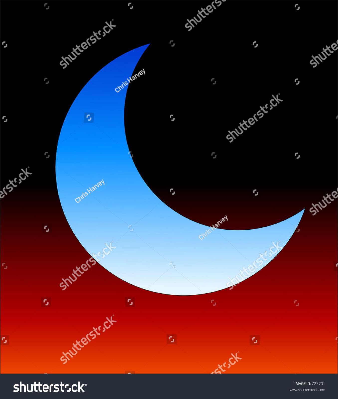 This crescent moon symbol stock illustration 727701 shutterstock this is a crescent moon symbol biocorpaavc Gallery