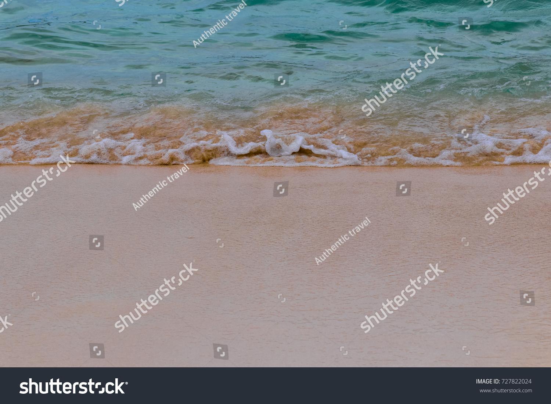 Ocean Waves Beach Sand Natural Textures Stock Photo Edit Now ...