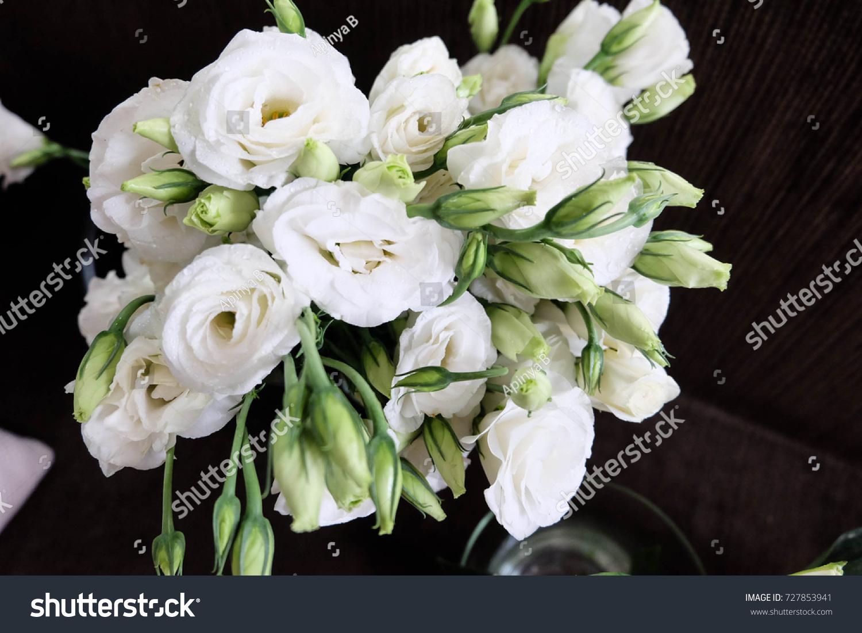White Flowers White Lisianthus Flower White Stock Photo Edit Now