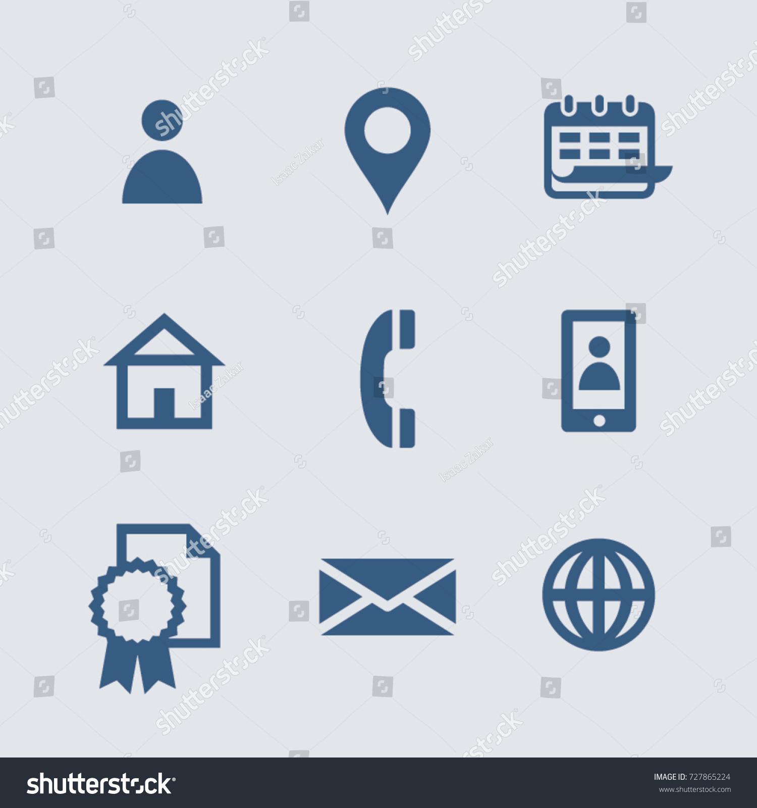 vector personal information icons curriculum vitae のベクター画像