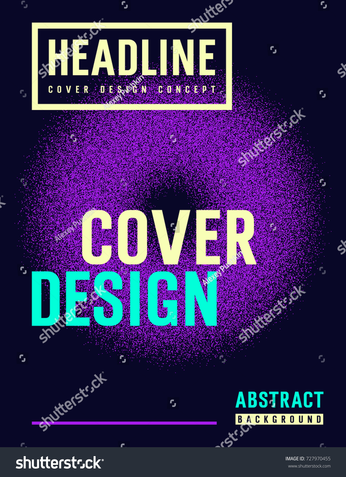 brochure design template abstract vector background stock vector