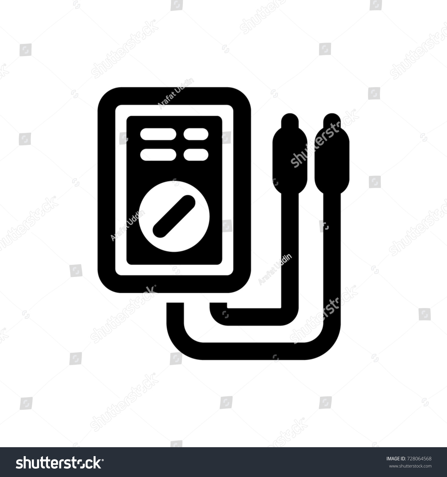 Charming Wiring Diagram For 150cc Scooter Small Dimarzio Pickup Wiring Color Code Round 3 Coil Pickup Gibson 3 Way Switch Young Guitar 5 Way Switch BlackWiring Gitar Voltmeter Icon Stock Vector 728064568   Shutterstock