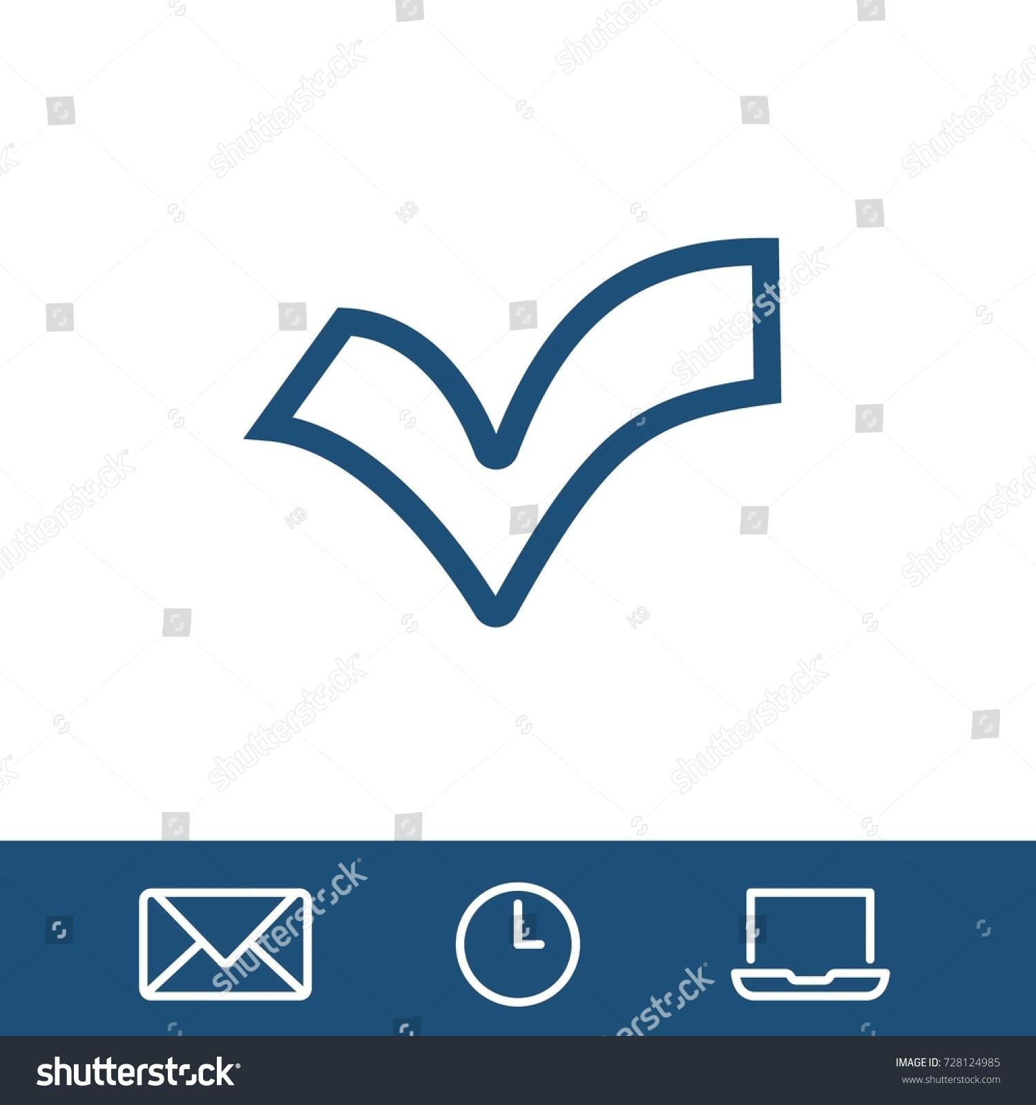 Check icon vector fat design editable stock vector 728124985 check icon vector fat design editable stroke 512x512 pixel perfect biocorpaavc