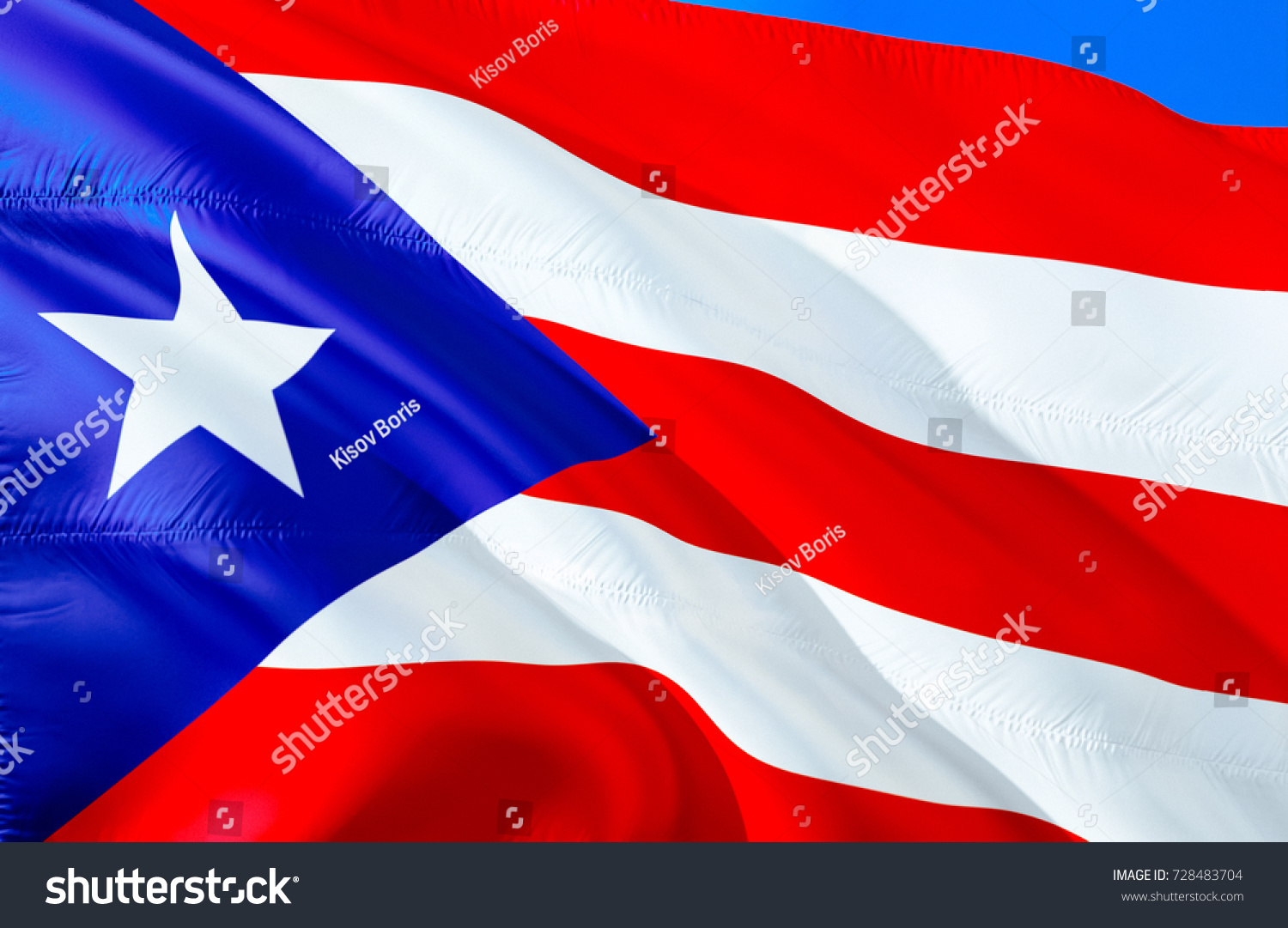 Puerto rico flag colors flag puerto stock illustration 728483704 puerto rico flag colors flag of puerto rico 3d waving flag design red biocorpaavc Choice Image