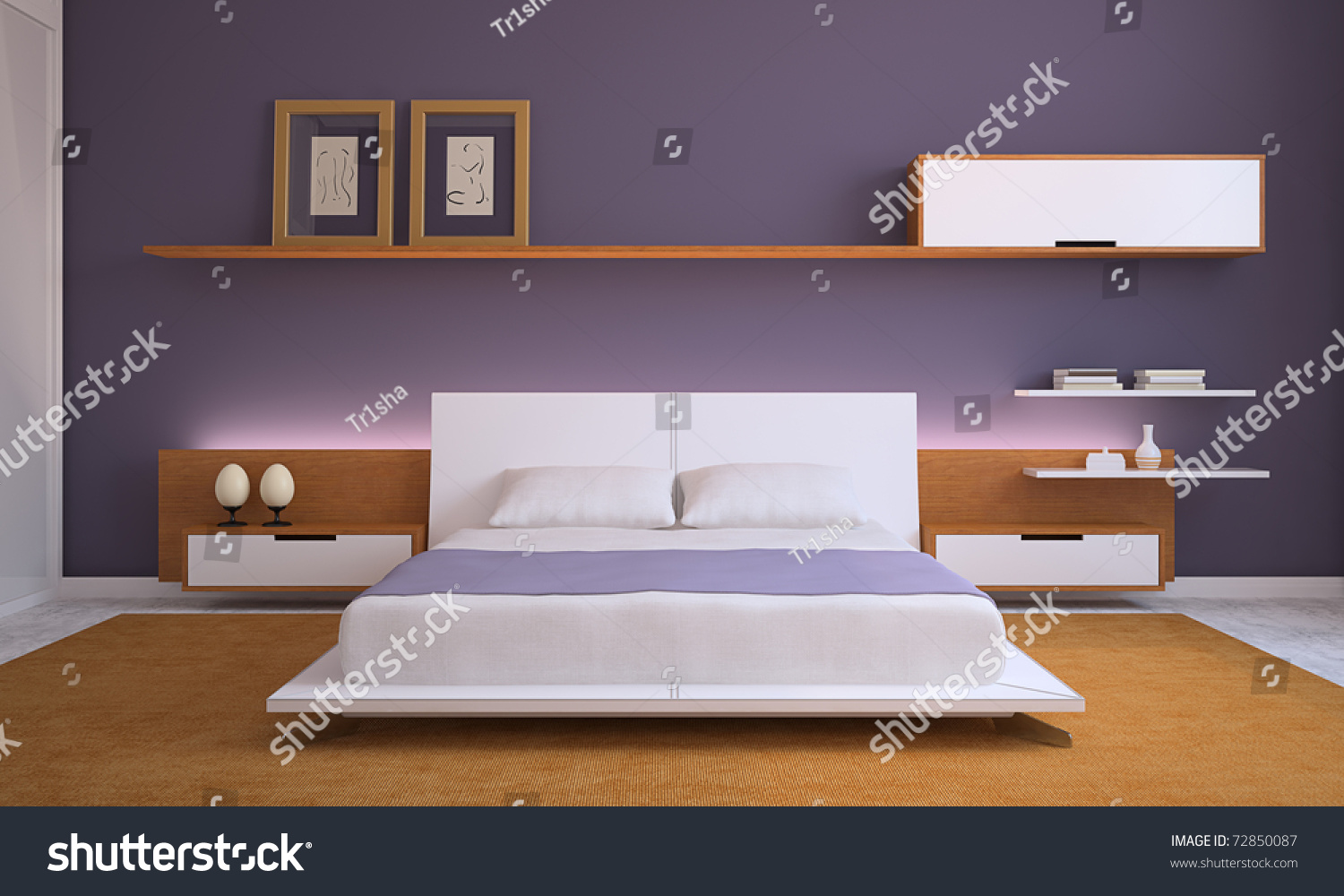 modern bedroom interior 3d render modern bedroom interior 3d render stock photo 72850087 923