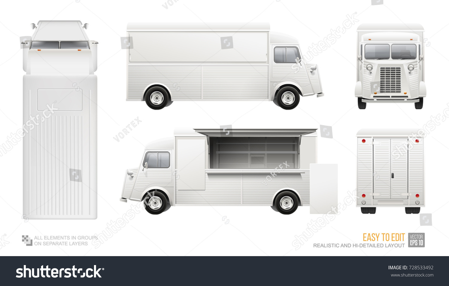 Food truck layout template choice image template design for Food truck design software