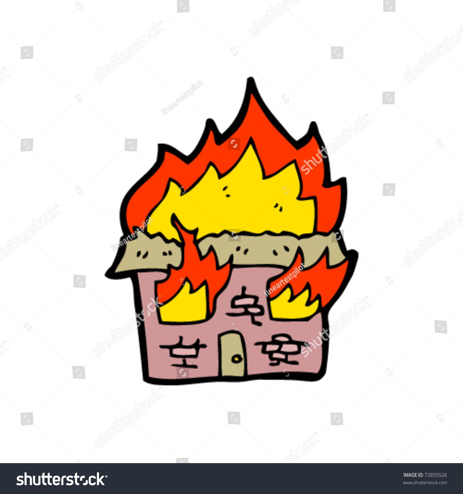 Картинки раскраска пожар горит дом 2