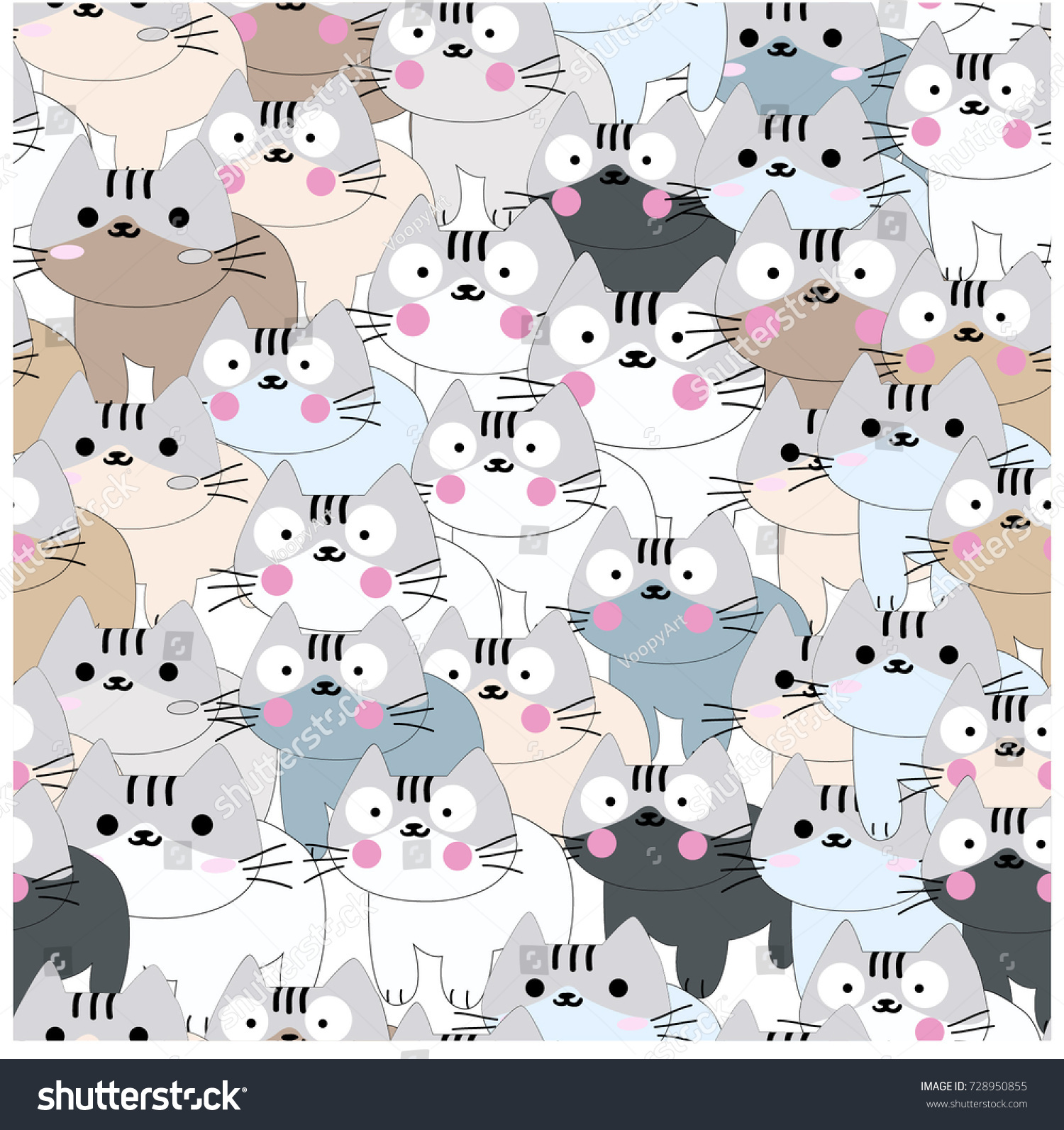 Cat Wallpaper Pastel