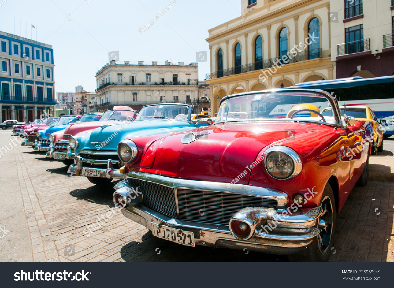 Havana Cuba Classic Cars #728958049