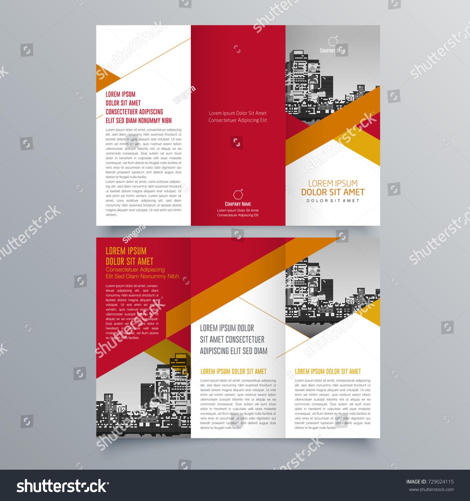Mini Brochure Template Free Brochures Templates Design Your