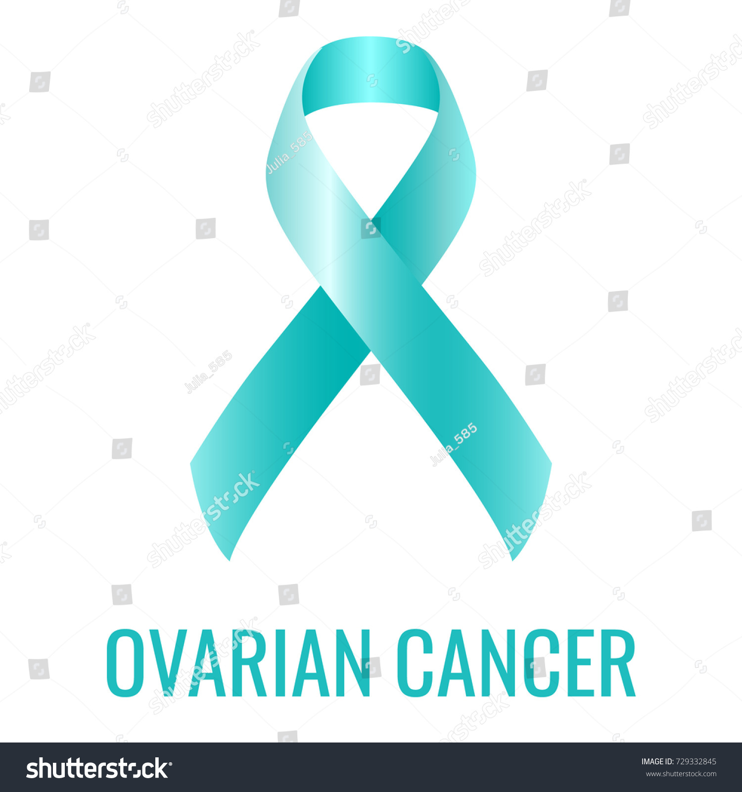 Ovarian cancer ribbon isolated on white stock vector 729332845 ovarian cancer ribbon isolated on white background biocorpaavc