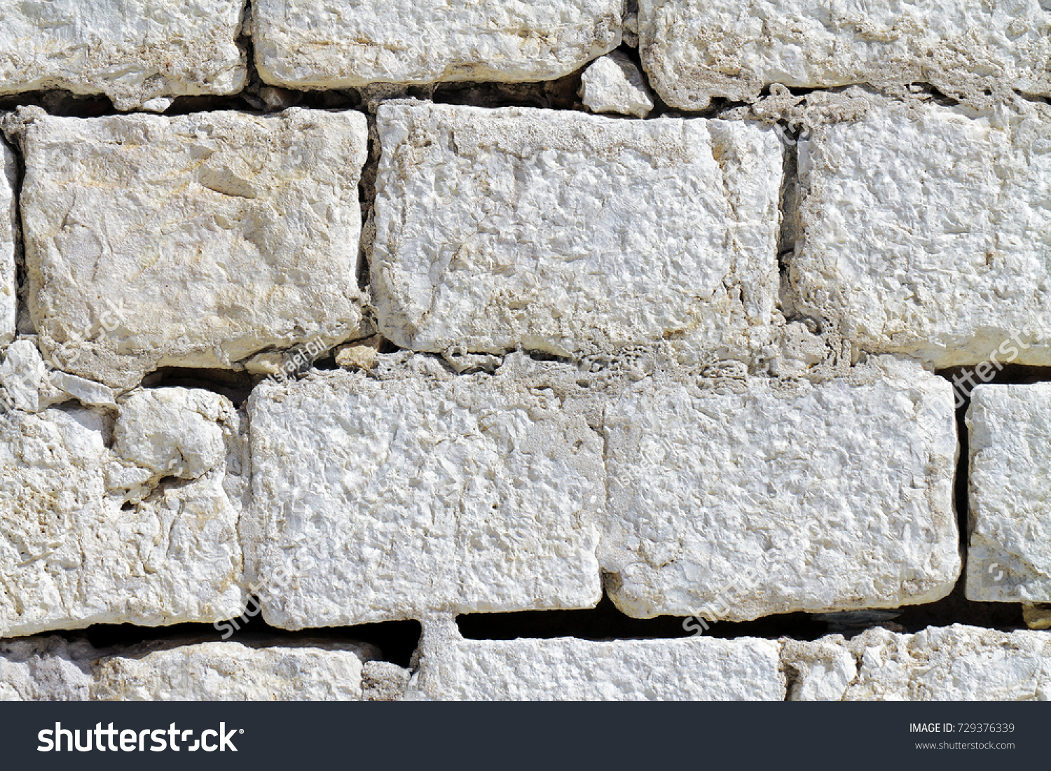 Background of stone wall #729376339