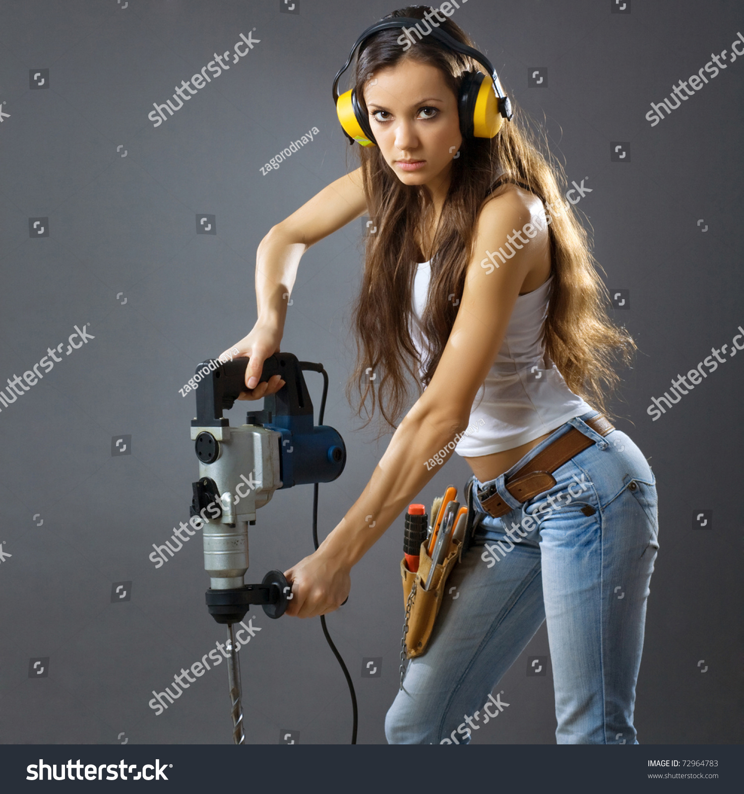 sexy construction girls sexy young woman construction worker stock photo 72964783 3301