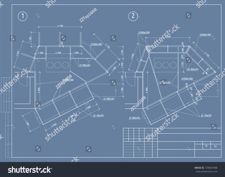 Architectural design blueprint architecture design blueprint architectural design blueprint the architectural design of engineering equipment floor plan blueprint malvernweather Images