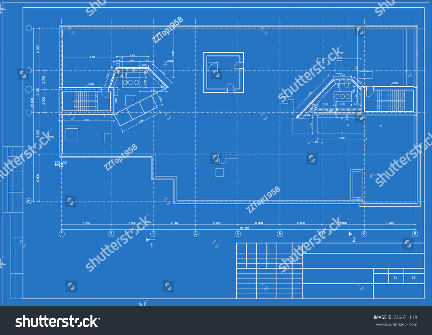 Architectural design engineering equipment floor plan vector de the architectural design of the engineering equipment floor plan blueprint vector malvernweather Image collections