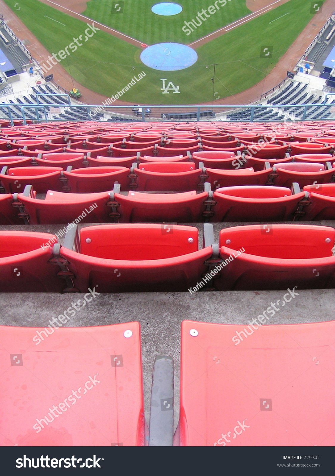 Nosebleed seats dodgers stadium los angeles stock photo 729742 nosebleed seats at dodgers stadium los angeles california buycottarizona Image collections