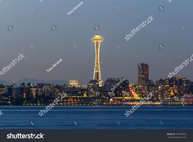 Seattle Washington USA July 22017 Space Stock Photo (Edit Now ...