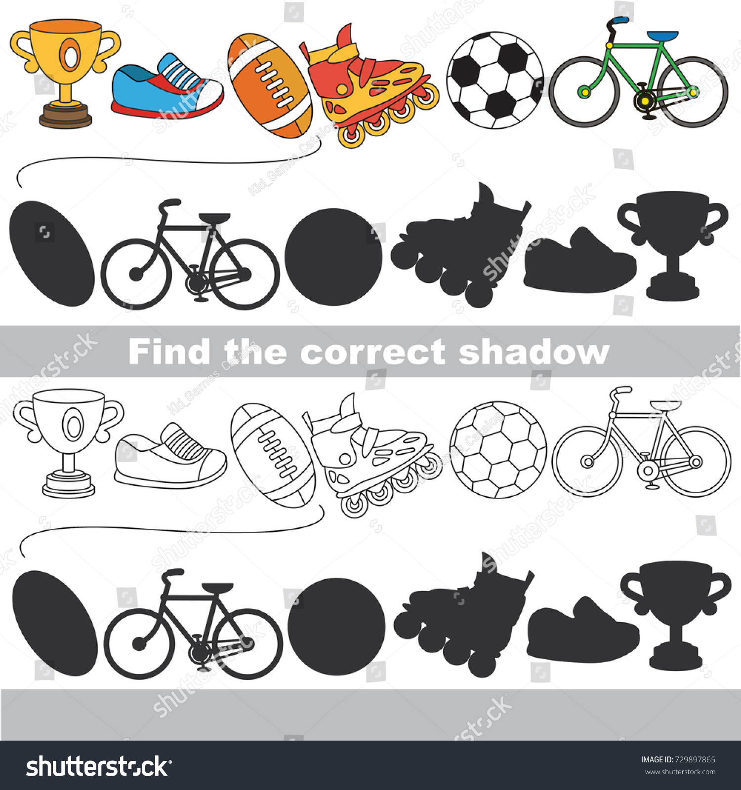 Fantastic Shadow Matching Worksheets Children Shadow Worksheet For ...