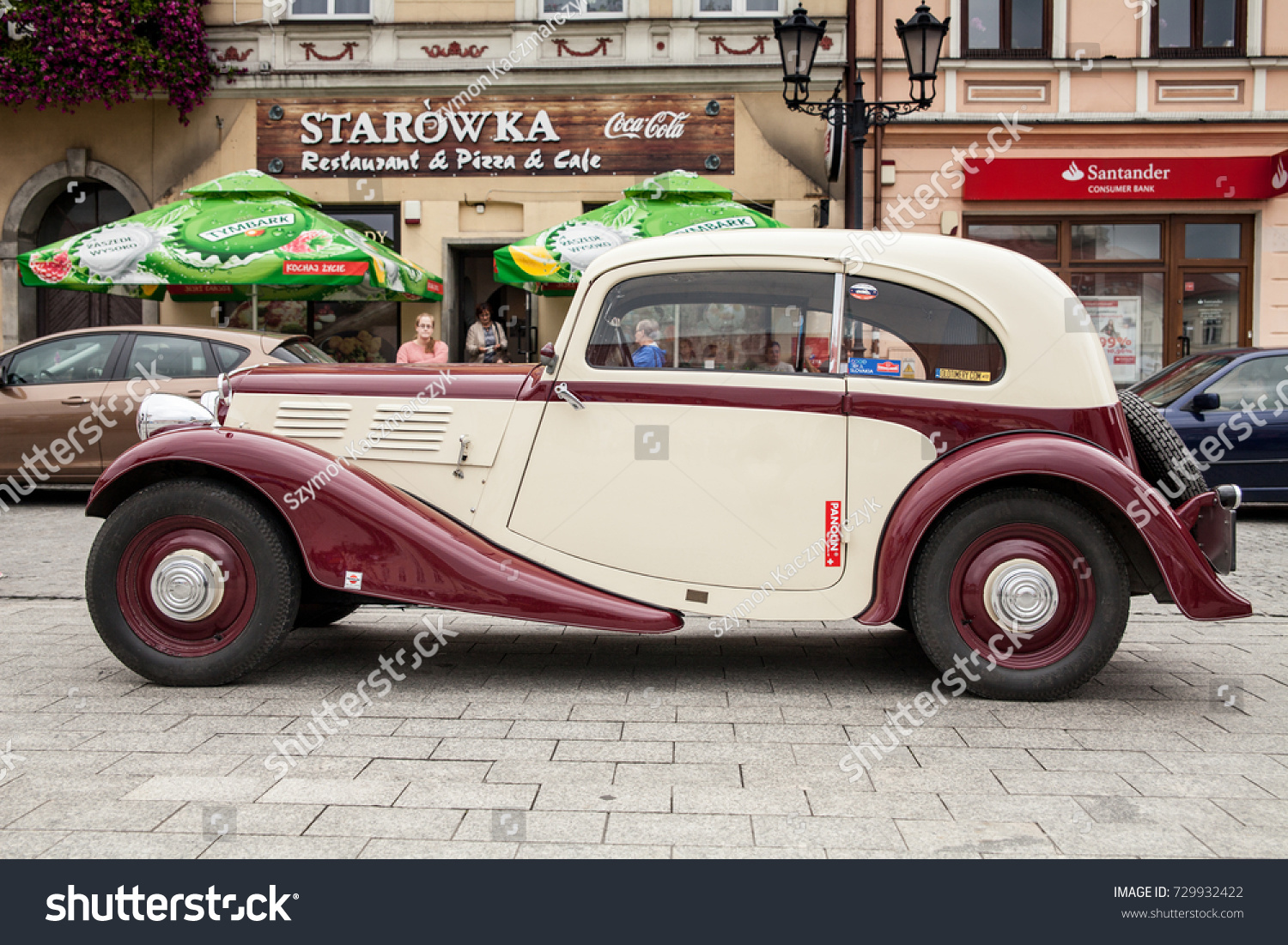 Oswiecim Poland 2017 Old Car Praga Stock Photo 729932422 ...