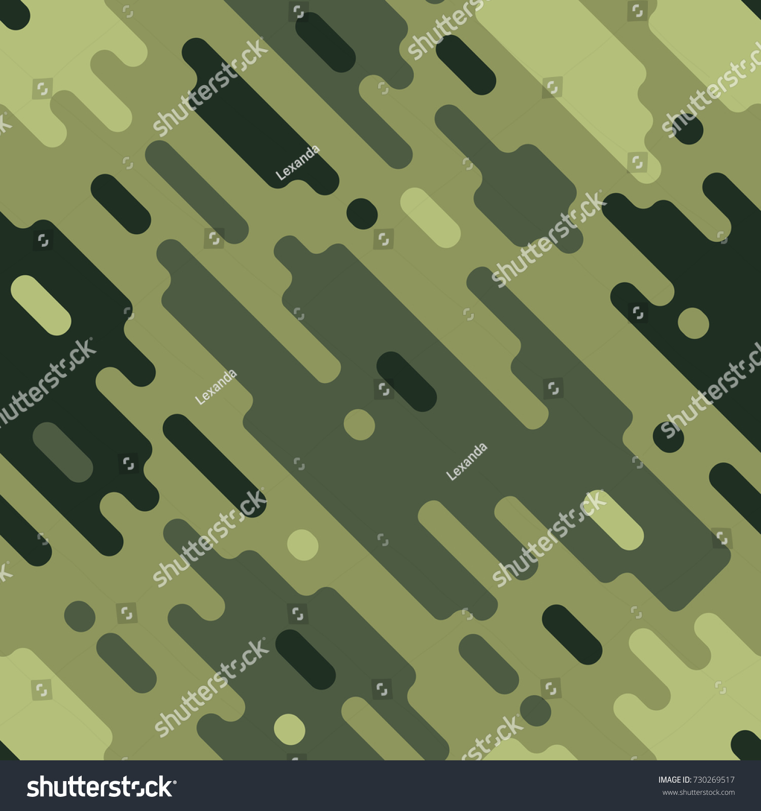 Camouflage Modern Colorful Seamless Pattern Dazzle Stock Vector ...