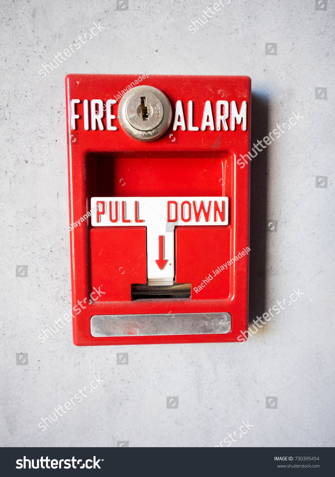 Fire Alarm Pull Station Ez Canvas