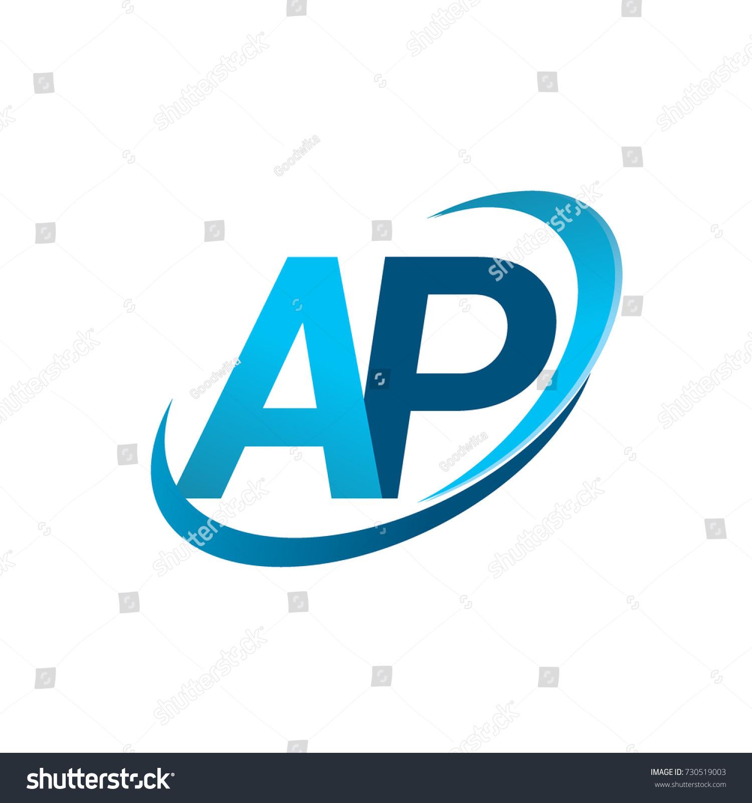 initial letter ap logotype company name stock vector 730519003 rh shutterstock com