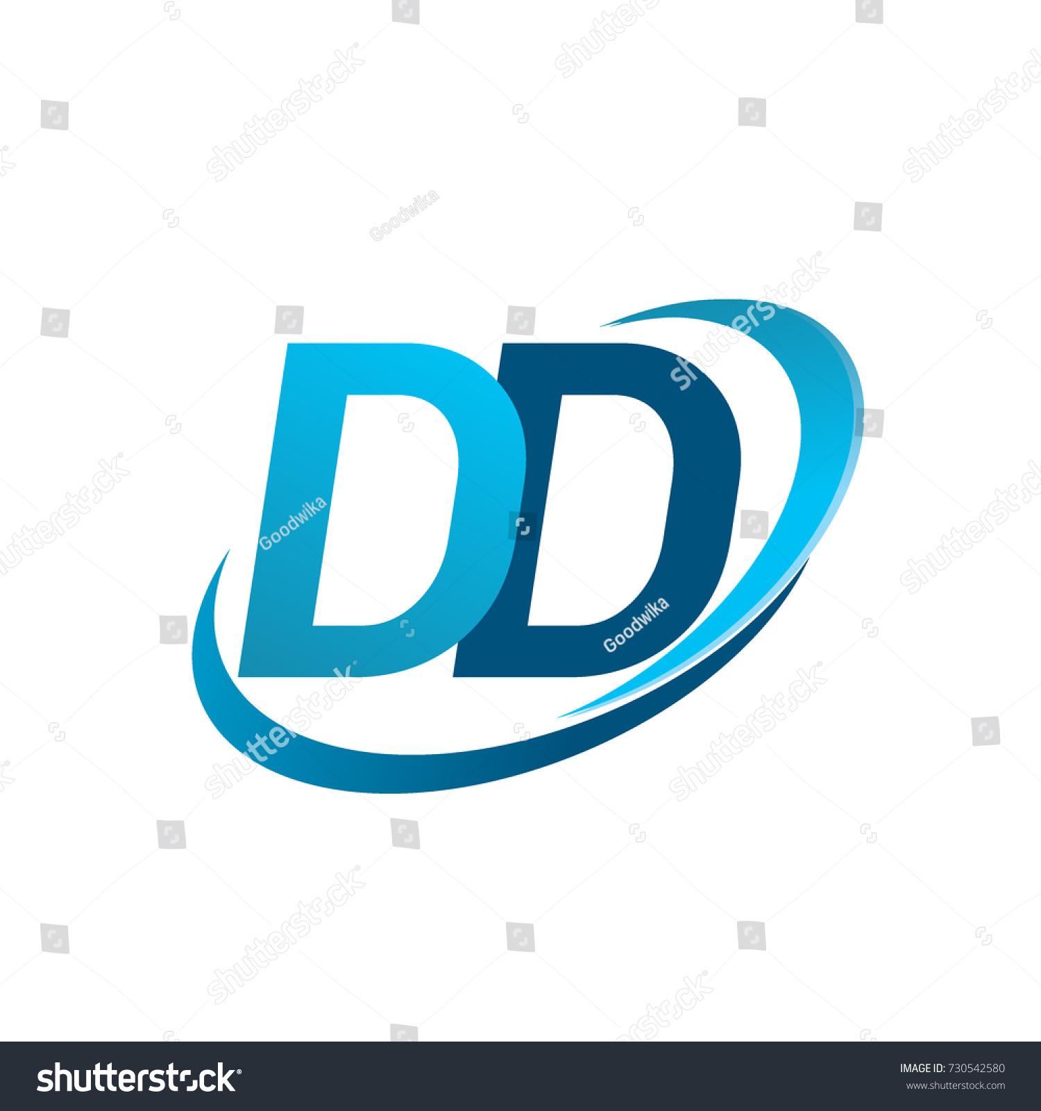 initial letter dd logotype company name stock vector hd royalty rh shutterstock com
