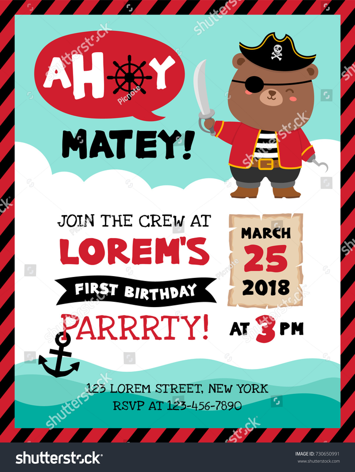 Bear Party Invitations Images - Party Invitations Ideas