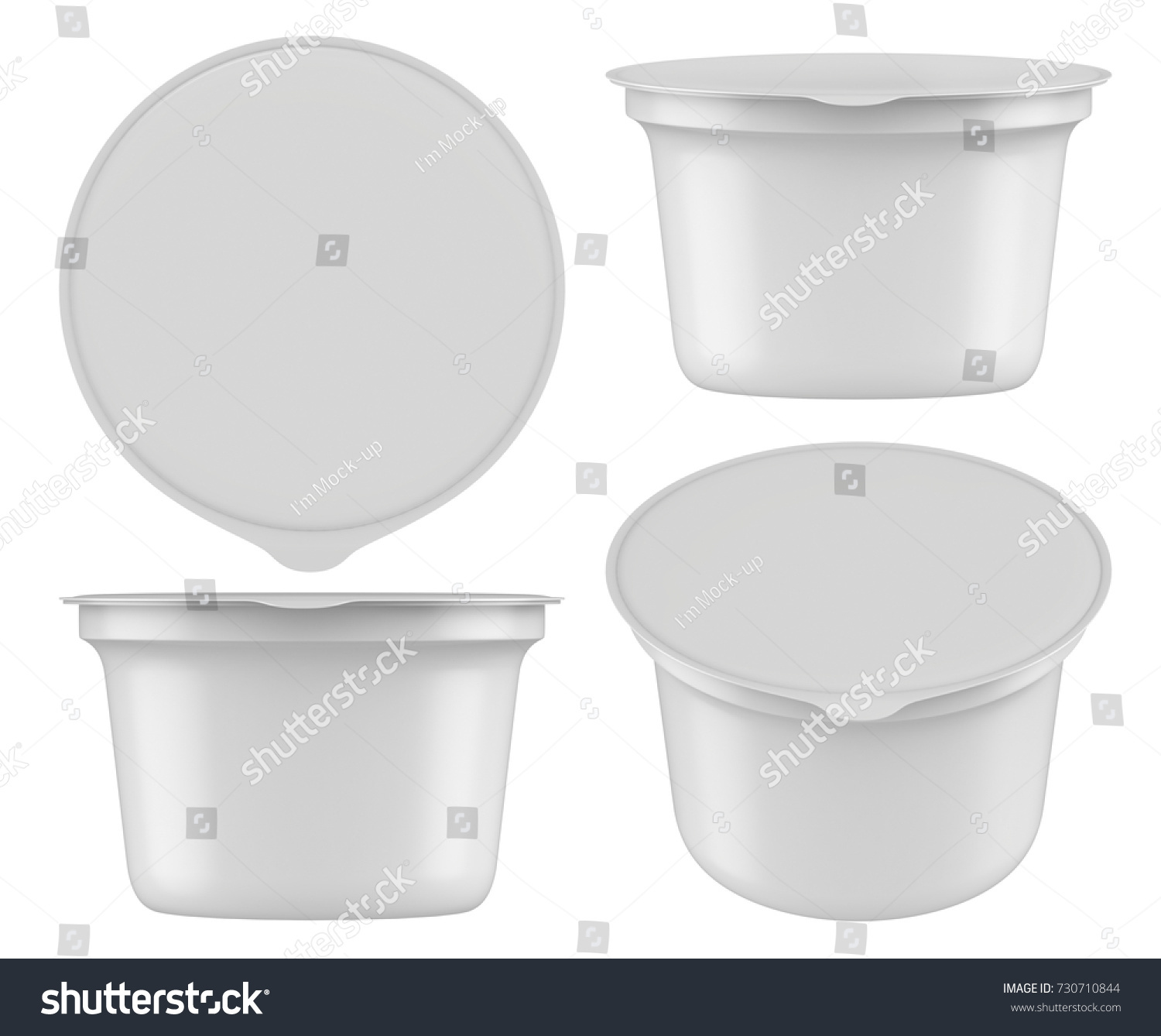 tamper cary tub oz white company evident hdpe resistant the storage container plastic