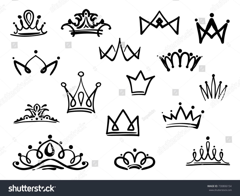 Black Crown Logo Fashion