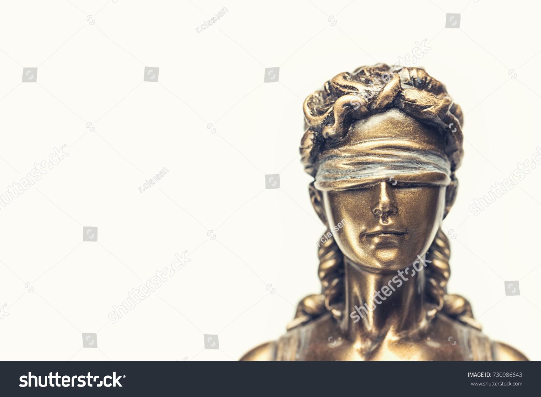 Blind lady justice iustitia justitia roman stock photo 730986643 blind lady justice or iustitia justitia the roman goddess of justice buycottarizona