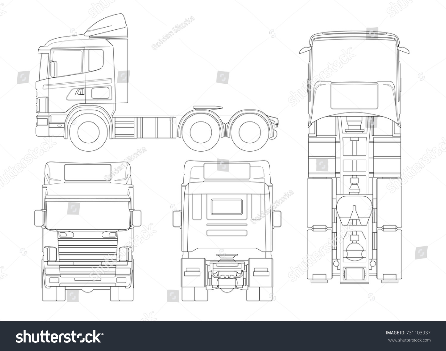 Trailer Truck Diagram Outline Wiring Diagrams Radio Frequency Circuit Design Repost Avaxhome Images Gallery